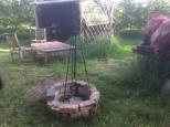 Gypsy wagon firepit