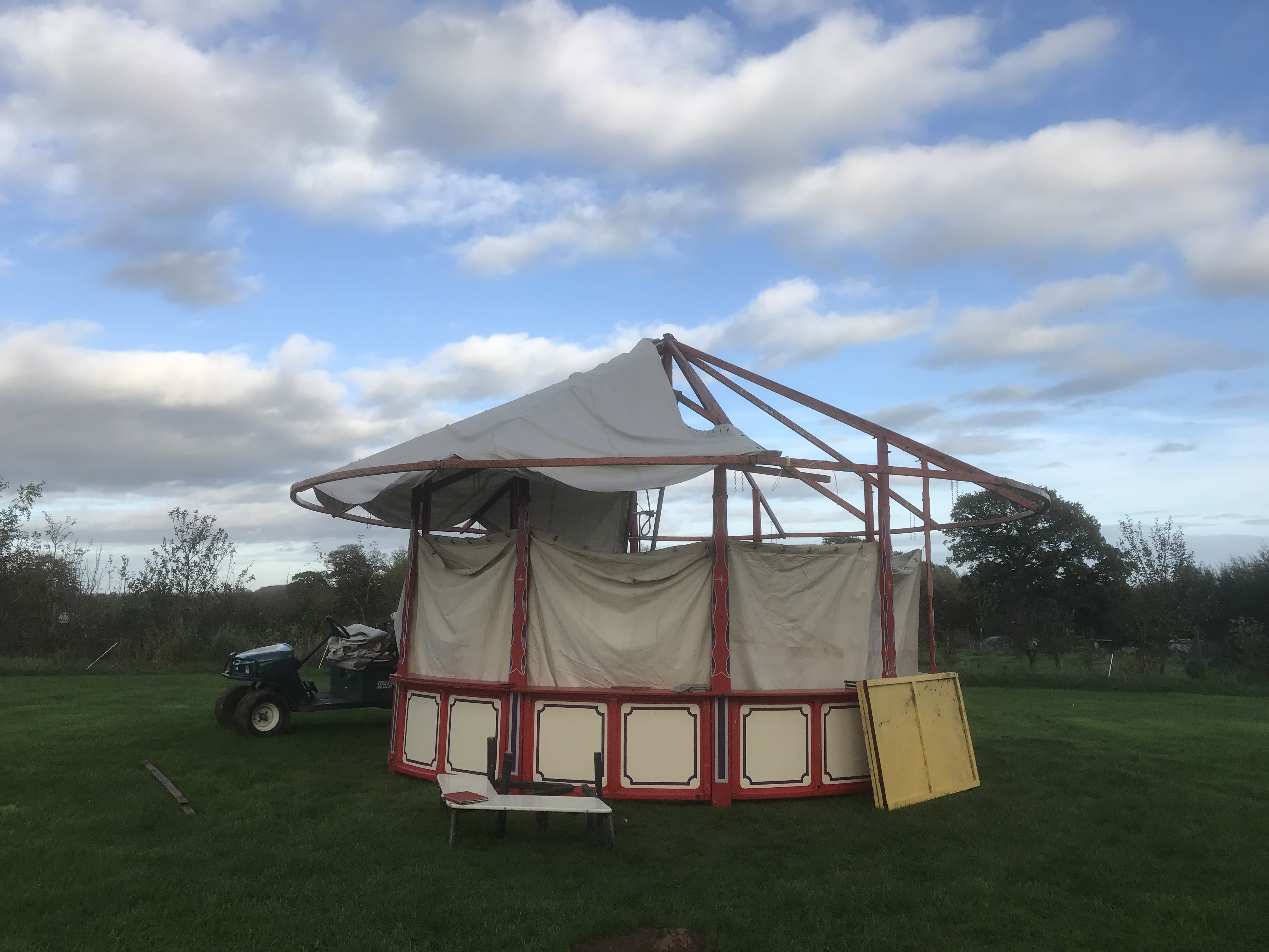 The 2018 Hoopla Tent!!! & HOME: ACORN PONDS GLAMPING SITE : An inspiring place to stay! Self ...