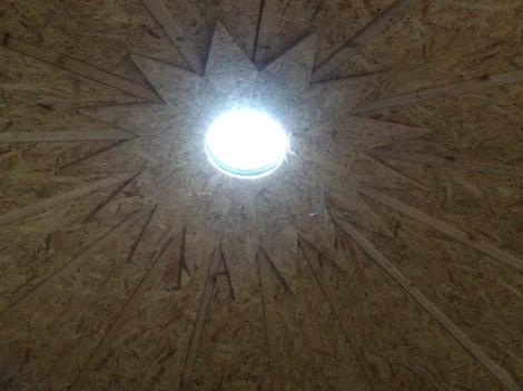 Stargate silo ceiling