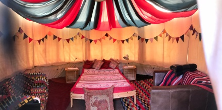 wide angle tent